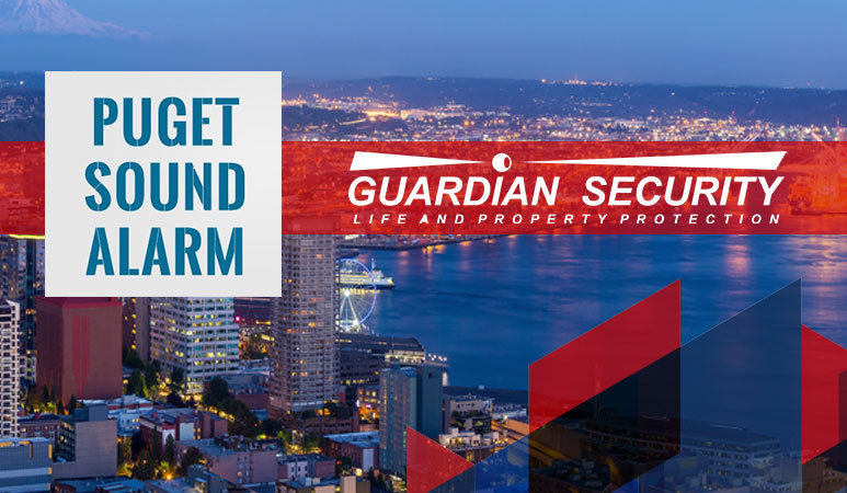 puget sound alarm acquired by guardian security systems Seattle