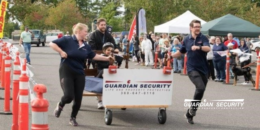Guardians of the County Bed Race- Guardian Security Supports the Family Promise Program That Helps Homeless