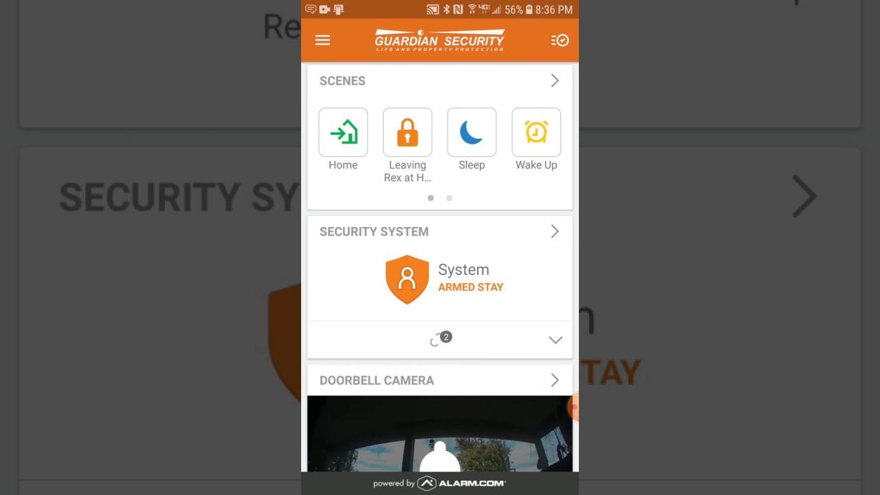Alarm.com App for your Home
