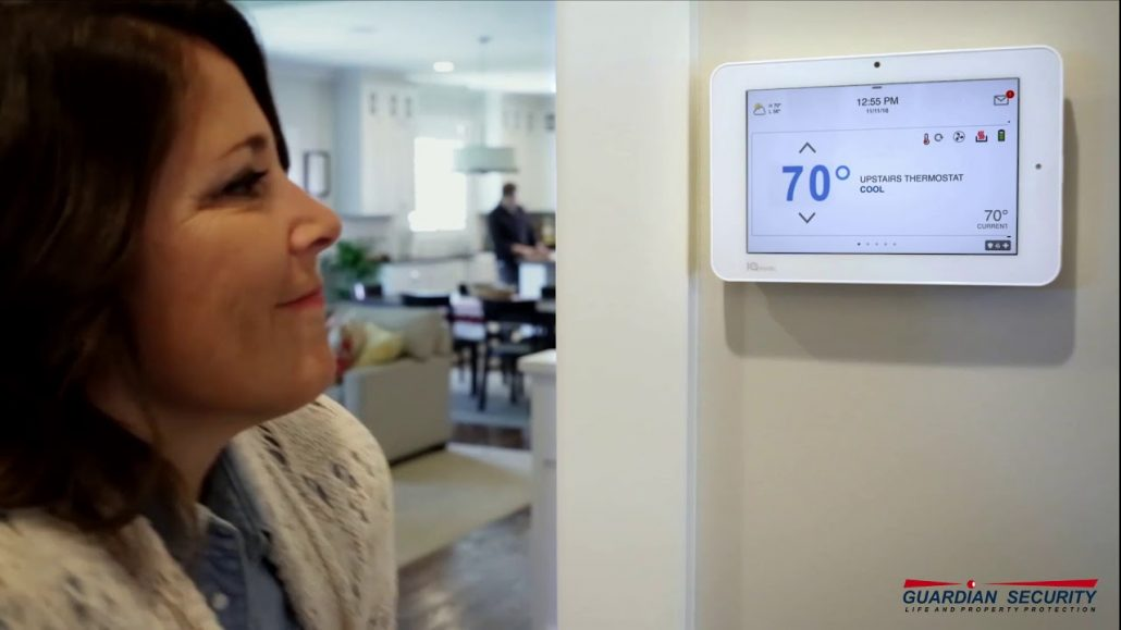 The Qolsys IQ Panel for your Home